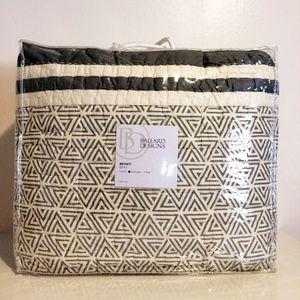 Ballard Designs Full Queen Geometric Print Quilt